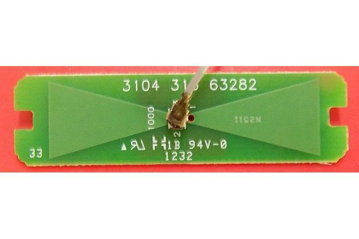ALIMENTATORE AIP-0118 REV D - CODICE A BARRE 860-ALZ-2A1DWH PER TV PACKARD BELL MAESTRO 191W